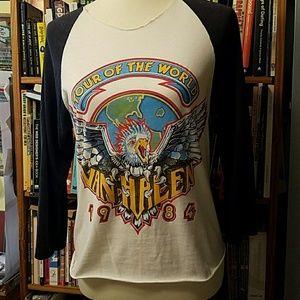 Van Halen t-shirt, authentic VINTAGE band shirt